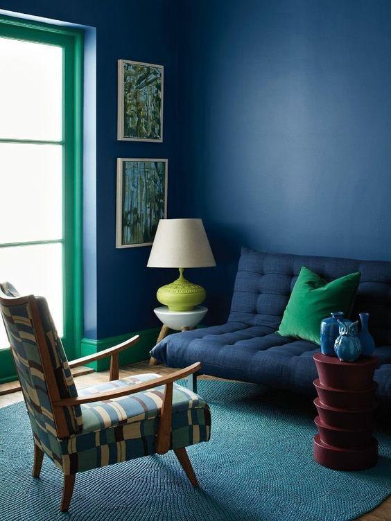 greenand blue trim