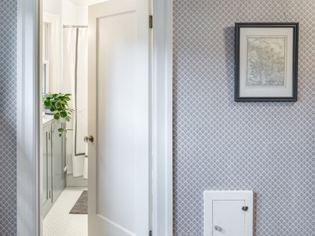 REVEAL: Irvington Dutch Colonial Bathroom Transformation
