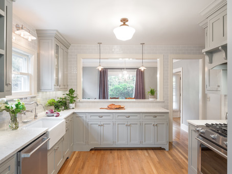 REVEAL: Irvington Dutch Colonial Kitchen