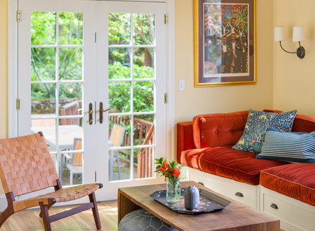Reveal: A Bright & Cheerful Space for the Whole Family   NW Nob Hill House Family Room + Foyer
