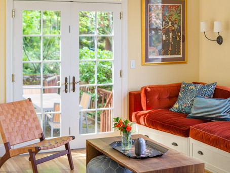 Reveal: A Bright & Cheerful Space for the Whole Family | NW Nob Hill House Family Room + Foyer