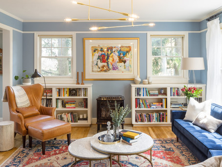 REVEAL: A Vibrant Space for Elegant Everyday Living | NW Nob Hill House Living & Dining Room