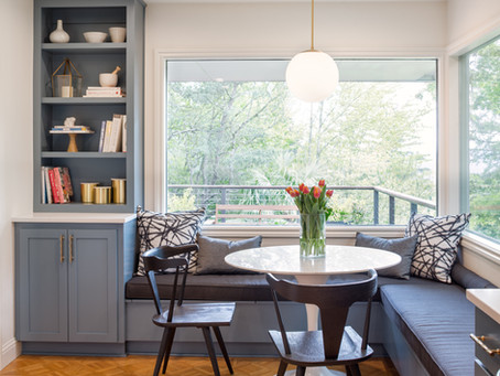 REVEAL: Bridlemile Midcentury Kitchen + The Sweetest Kitchen Nook