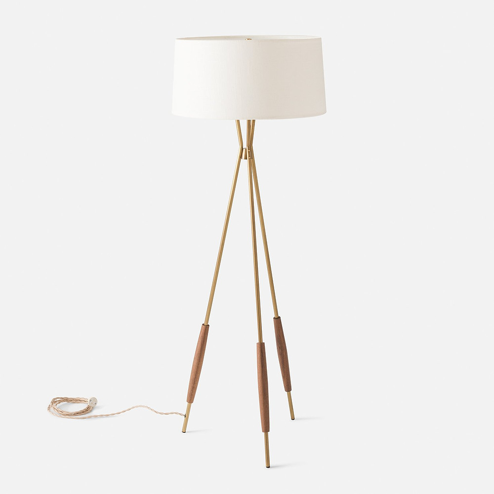 Mulberry Tripod Floor Lamp
