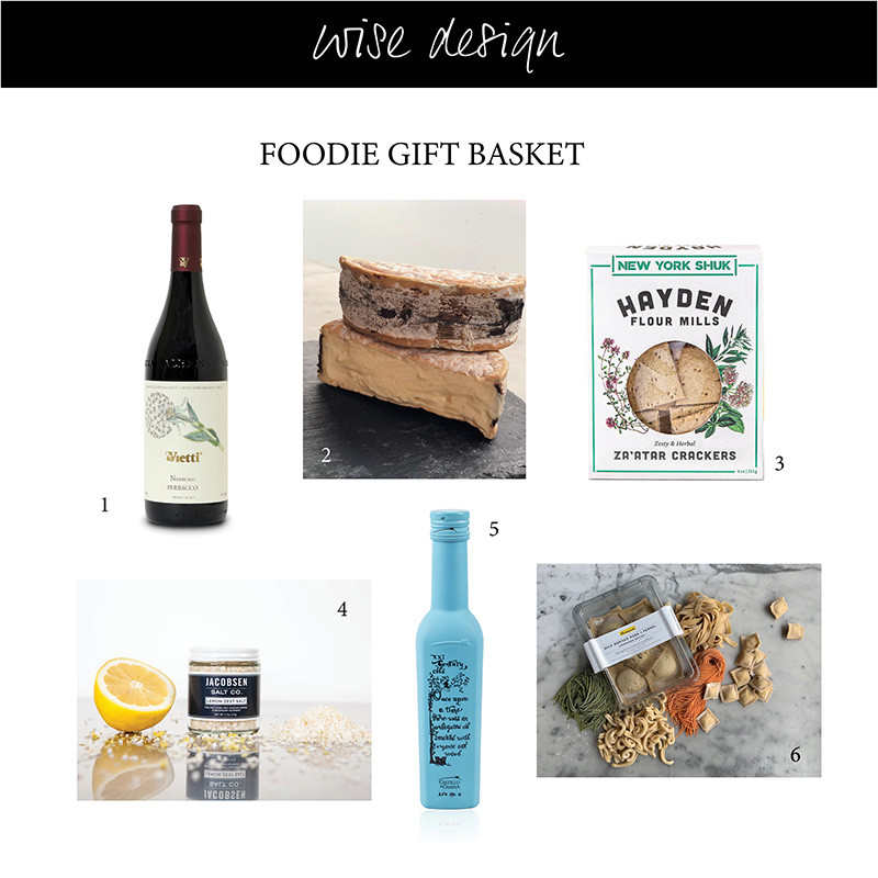 gift basket from Providore foods for your foodie friends and family