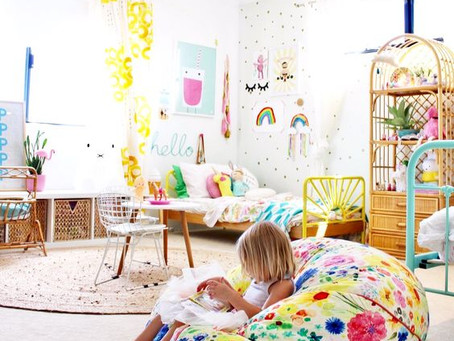 Behind-the-Scenes: Funshine Girl's Room Before Photos & Space Planning