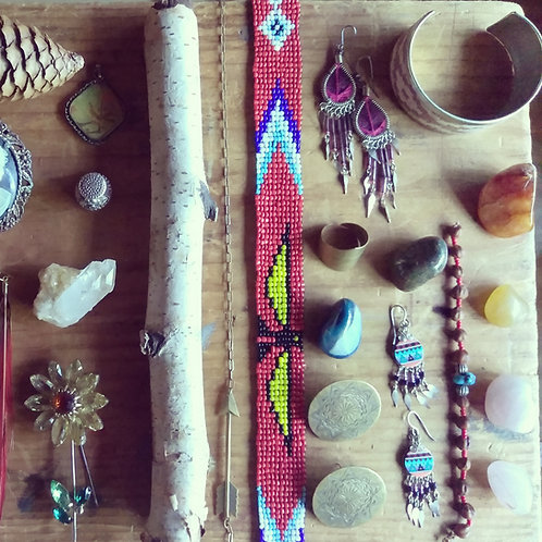 native beaded band