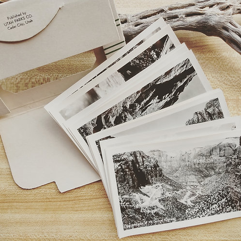 vintage photos: Grand Canyon National Park genuine souvenir pack, 1929 (14qty)
