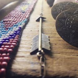 american tumbleweed_arrow pendant