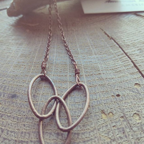Copper Link Necklace