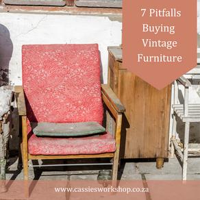 7 Pitfalls when Buying Vintage Furniture
