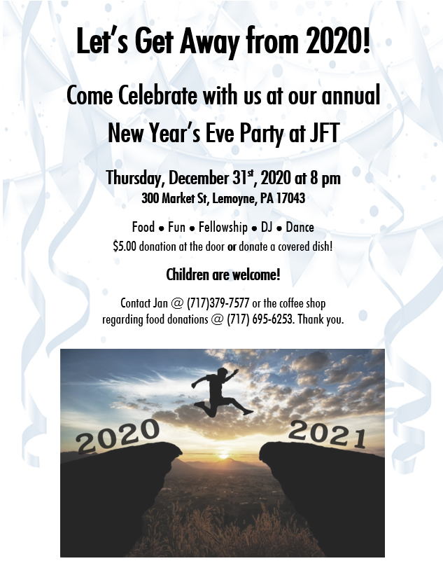 New Year's Eve Party at JFT