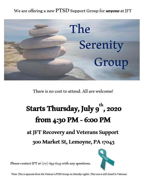 NEW PTSD MEETING AT JFT