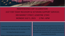 Celebrate Independence Day with us on July 5th!
