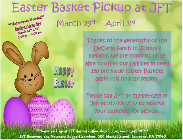 Come Get an Easter Basket