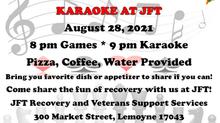 Game Night and Karaoke at JFT