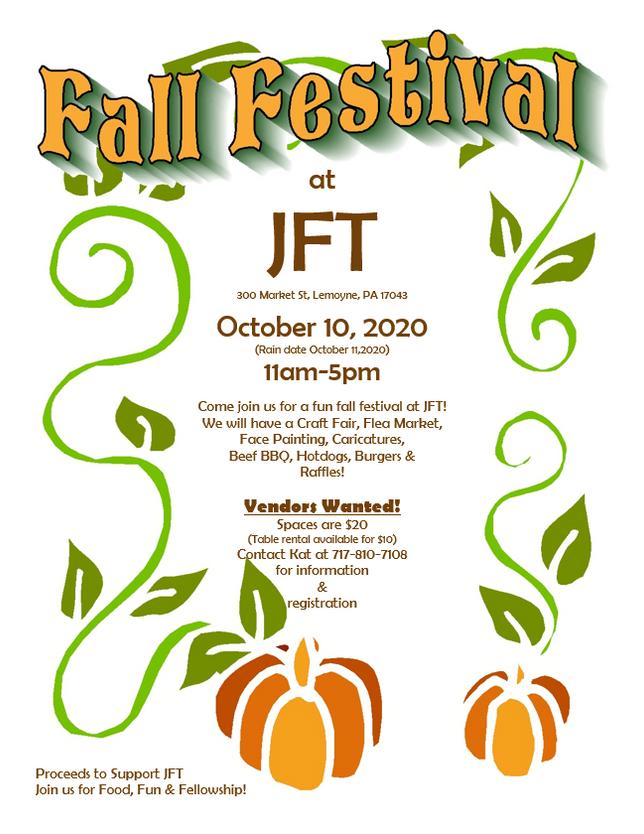 JFT's Fall Festival
