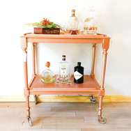 Rose Gold Trolley