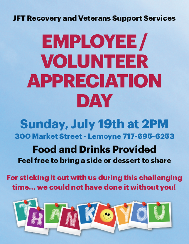 Employee/ Volunteer Appreciation Day
