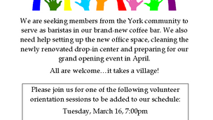 Join Our York Location!
