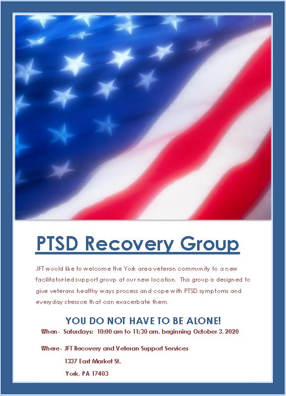 New PTSD Group in York