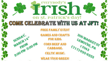 St. Patrick's Day at JFT