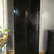 Black Gloss Cupboard