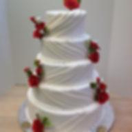 Wedding Cake #scarsdalepastrycenter