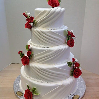 Wedding Cake #scarsdalepastrycenter