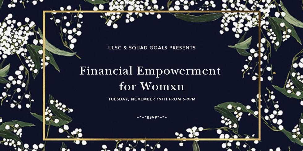Financial Empowerment for Womxn