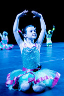 Young ballerina at the Summer Show 2019 rehearsals