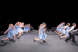 Matildas strutting their stuff in rehearsal