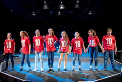 Thirteen in rehearsal