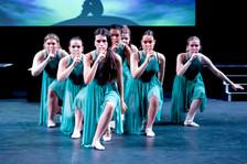 Grade 6 Ballet at the Summer Show 2019 rehearsals
