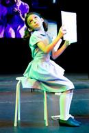 Matilda at the Summer Show 2019 rehearsals