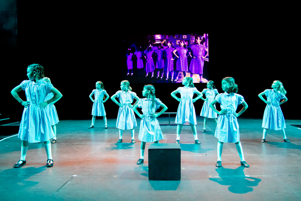 Saturday Musical Theatre School at the Summer Show 2019 rehearsals