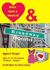 Onceuponamusical & broadway bound in stu