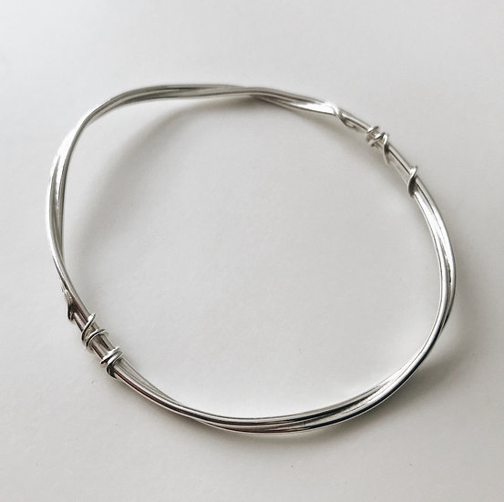 Wrapped Flow Bangle