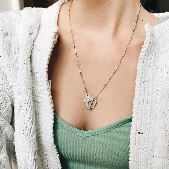 Thread Through Necklace