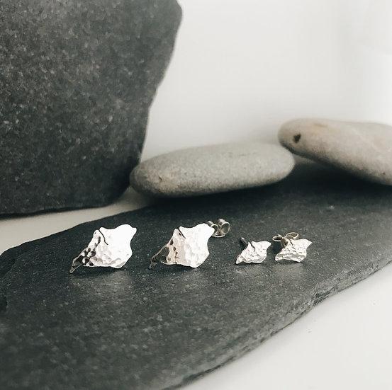 Teeny Island Stud Earrings