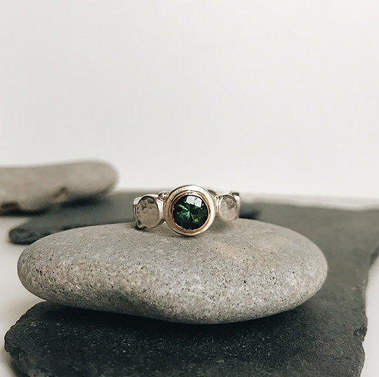 Tourmaline Pebble Ring