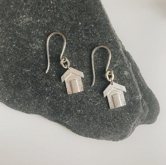 Beach Hut Earrings