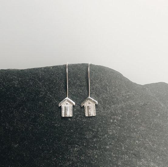 Littlest Beach Hut Earrings