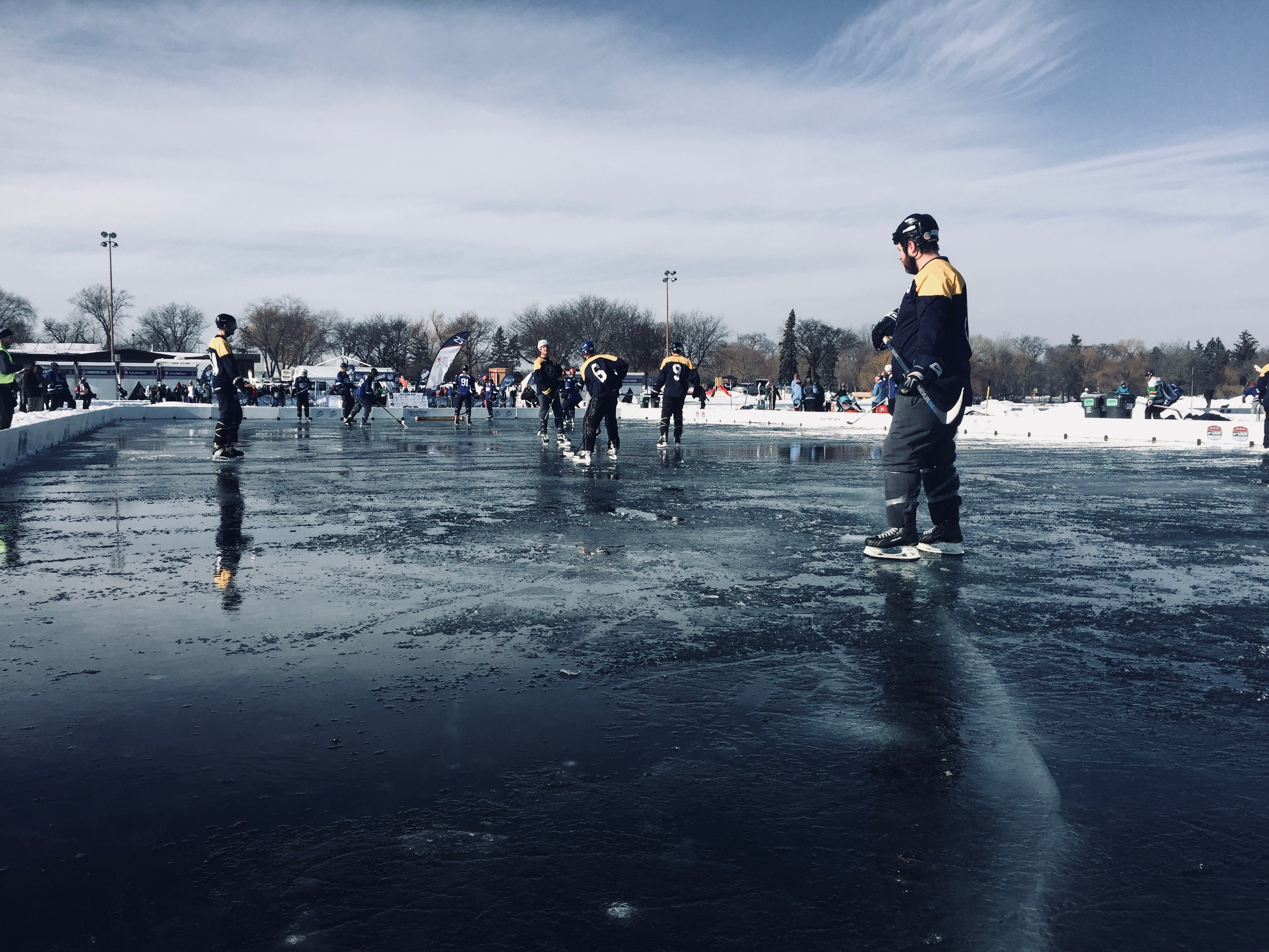 U.S. Pond Hockey Tournament