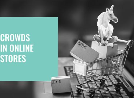 Queues in online stores