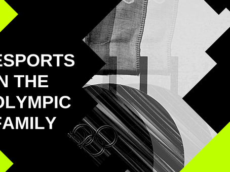 Esports in the Olympic family?