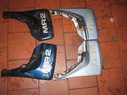 Toyota MR2 MK1 Rear Wheel Mud Flaps