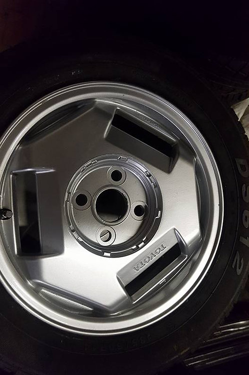 Toyota MR2 MK1 Alloy wheels 1A