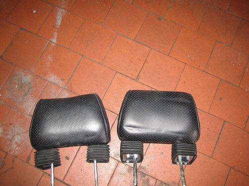 Toyota MR2 MK1 Black Leather Head Rests