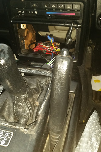 Toyota MR2 MK1 leather handbrake lever